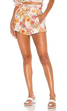 Peony Pleated Short For Love & Lemons $125