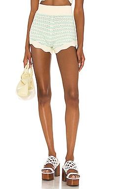 Lizzy Stripe Knit Short For Love & Lemons $88