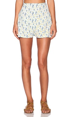 For Love & Lemons Mojavai Short in Mint Cacti