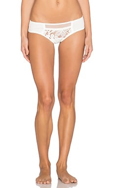 SKIVVIES by For Love & Lemons Casablanca Panty in White