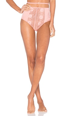 For Love & Lemons x REVOLVE High Waist Panty in Pink