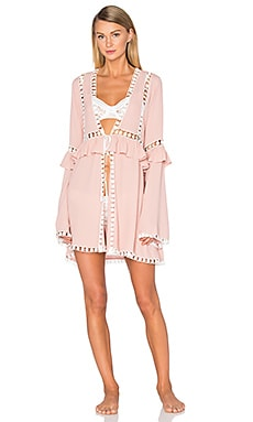 Emmy Robe en Blush