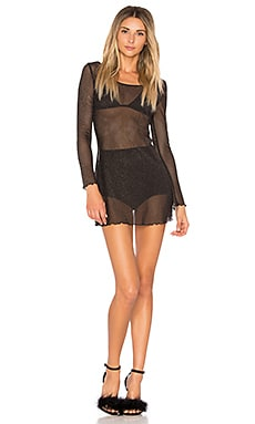 Sparkle Mesh Nightgown