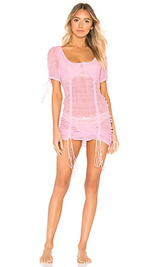 Rosalie Shirred Nightgown For Love & Lemons $194