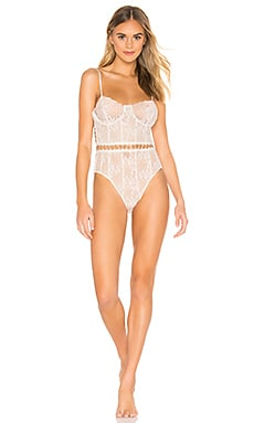 MARIETTE EMBROIDERY ボディスーツ For Love & Lemons $224
