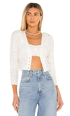 Blanca Crochet Cardigan For Love & Lemons $114 BEST SELLER