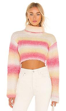 Rosa Turtleneck Crop Sweater For Love & Lemons $132