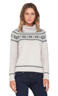 KNITZ by For Love & Lemons Snowed In Sweater in Gray