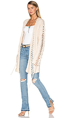 KNITZ Wythe Cardigan in Natural