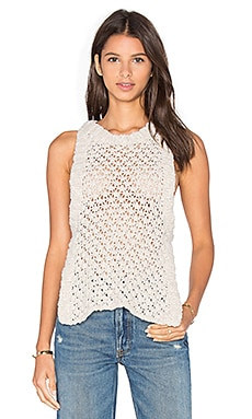 For Love & Lemons KNITZ Mulberry Tank in Oatmeal