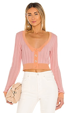 Phoebe Pointelle Cardigan For Love & Lemons $119