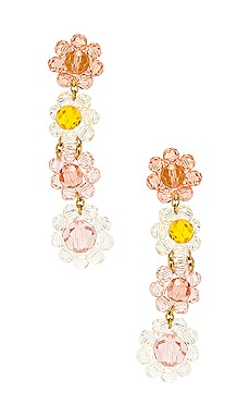 Bouquet Beaded Earrings For Love & Lemons $92 NEW ARRIVAL