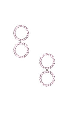 Crystal Ball Earrings For Love & Lemons $56