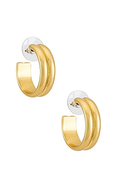 Solstice Hoop Earrings For Love & Lemons $44