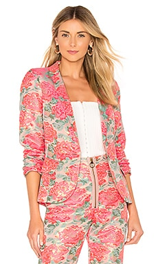Jackpot Brocade Blazer For Love & Lemons $123