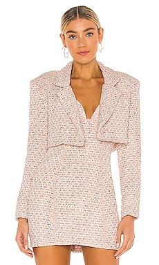 Dionne Cropped Blazer For Love & Lemons $194 NEW