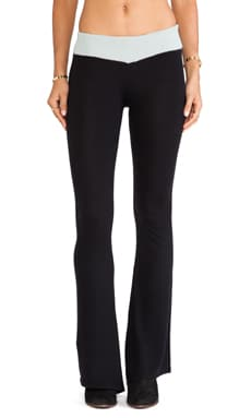 KNITZ by For Love & Lemons Grizzly Pant in Black