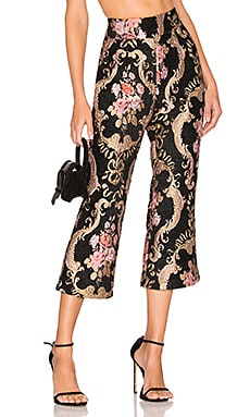 Brocade Flared Pant For Love & Lemons $189