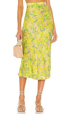 Dubois Midi Skirt For Love & Lemons $165 BEST SELLER