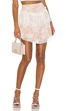 Verbena Lace Mini Skirt For Love & Lemons $129