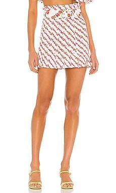 Georgia Mini Skirt For Love & Lemons $125