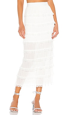 Posie Midi Skirt For Love & Lemons $150 BEST SELLER