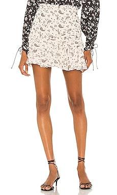 Paisley Mini Skirt For Love & Lemons $93
