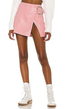 Talia Mini Skirt For Love & Lemons $156 BEST SELLER
