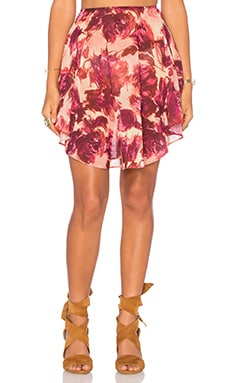 Wild Rose Skirt in Rosey Floral