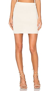 KNITZ Delancey Skirt in Creme