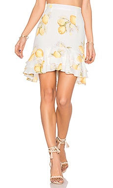 Limonada Skirt in Lemon
