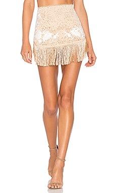 Matador Mini Skirt in Latte