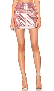 Luna Metallic Skirt