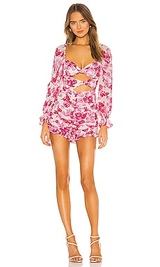 X REVOLVE Oahu Romper For Love & Lemons $260
