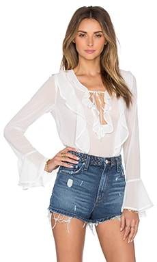 Eva Blouse in White