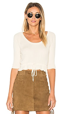 KNITZ Delancey Top in Creme