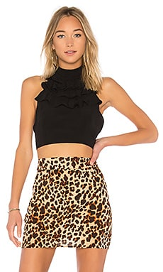 Mockingbird Ruffled Crop Top