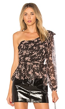 Theo One Shoulder Blouse