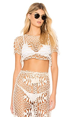 Melrose Crochet Top