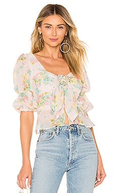 Paradis Blouse For Love & Lemons $158