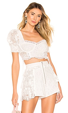 Indio Lace Crop Top For Love & Lemons $158