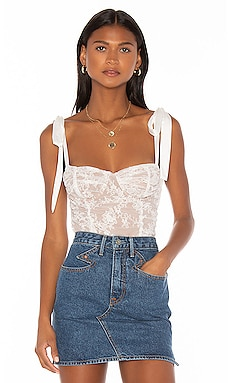 Dolly Bustier Top For Love & Lemons $172