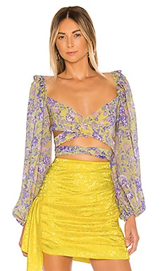 Maui Wrap Top For Love & Lemons $158