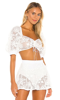TOP CORTO DAISY For Love & Lemons $141 NOVEDADES