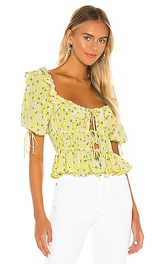 Chrysanthemum Blouse For Love & Lemons $150