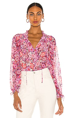 Grace Blouse For Love & Lemons $136 BEST SELLER