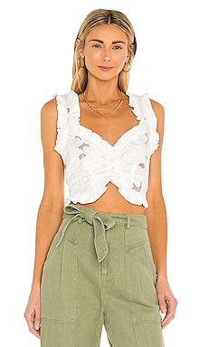 Evelyn Crop Top For Love & Lemons $134 NEW