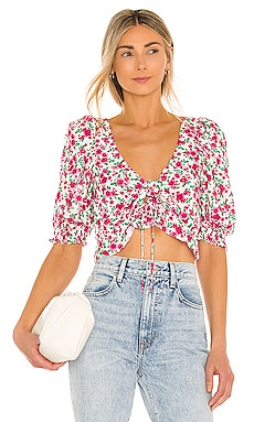 Petal Blouse For Love & Lemons $123 BEST SELLER