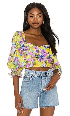 Cassia Crop Top For Love & Lemons $128 BEST SELLER