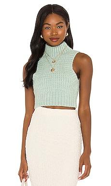 Dominique Crop Sweater Tank For Love & Lemons $110
